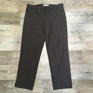 MaxMara Pants Womens Sz 12 Brown Ankle Crop
